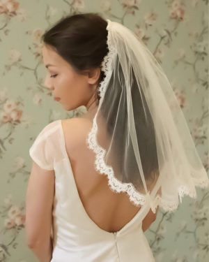 Ella French Lace Veil