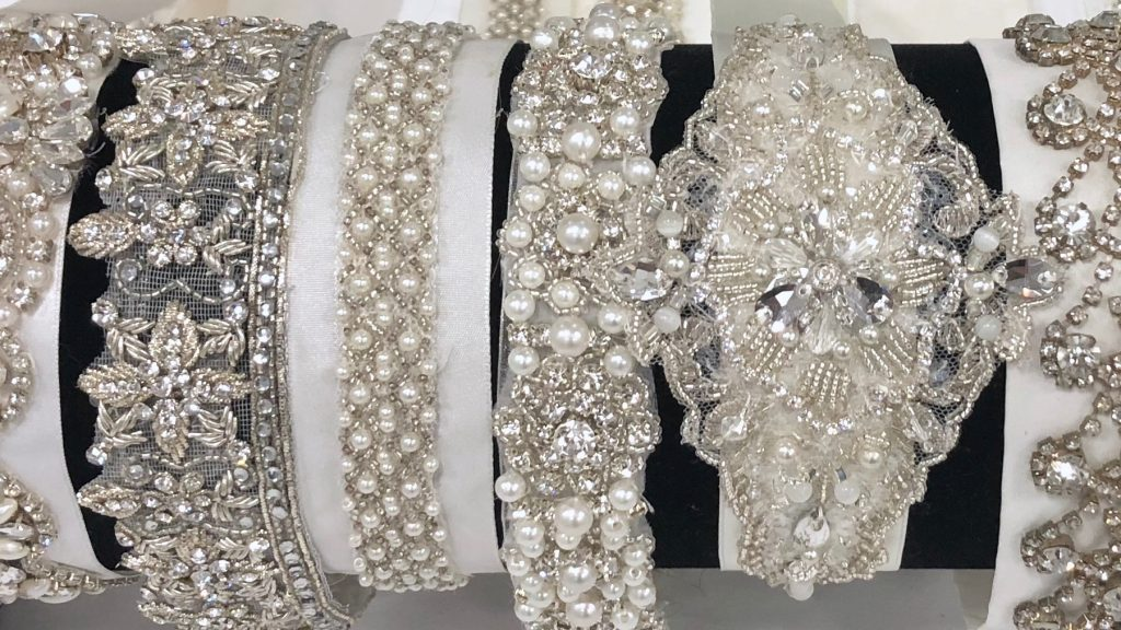Bridal belts by Engaging Bridal