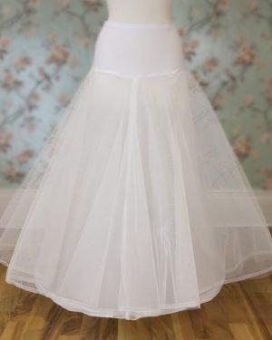 A - line Wedding Dress Underskirt with netting