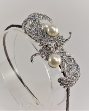 Vintage Plume Bridal Headpiece