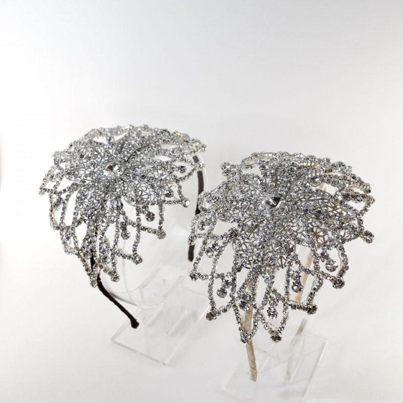 Vintage crystal headpiece