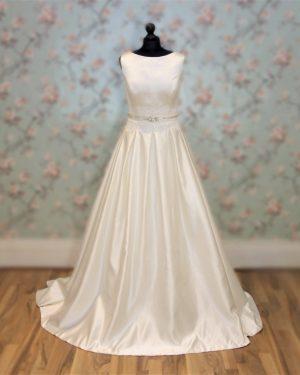 Audrey Custom Bridal Dress