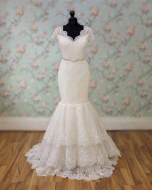 Eliza Lace Mermaid Bridal Dress