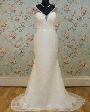 Krista Sample Wedding Dress