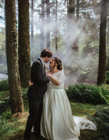 Forest Bride and Groom